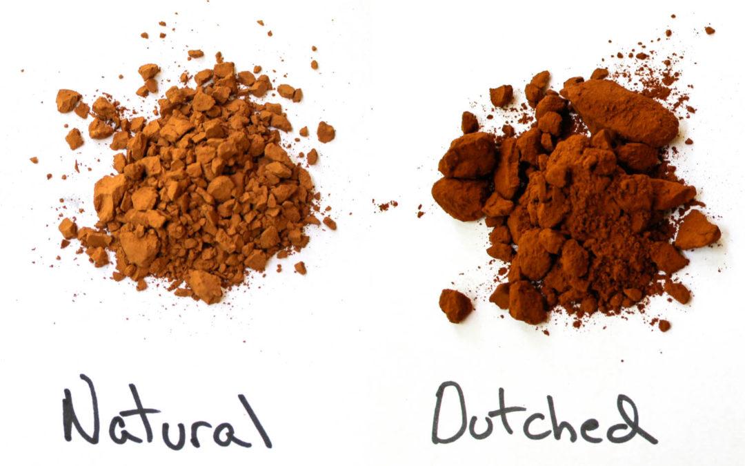 ▷Diferencias entre Cacao puro Alcalinizado y Natural