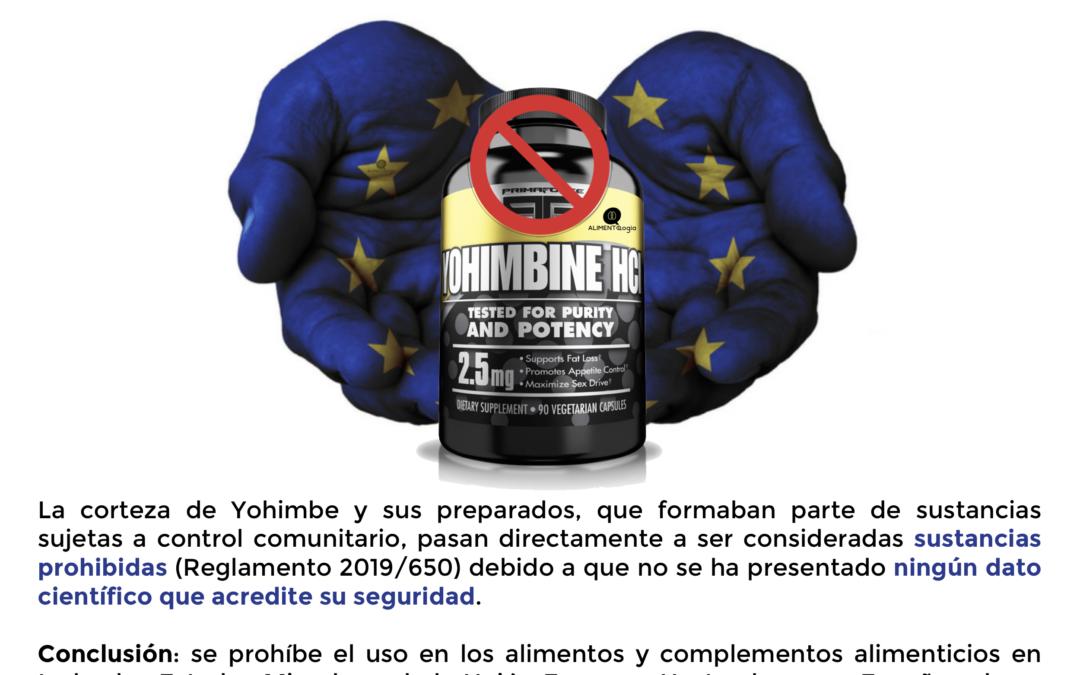 La Yohimbina se prohibió finalmente en Europa