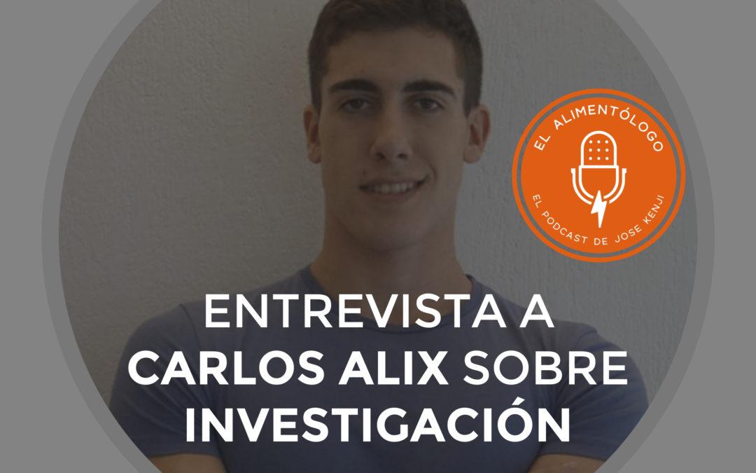 Entrevista a Carlos Alix, joven investigador en ciencias del ejercicio