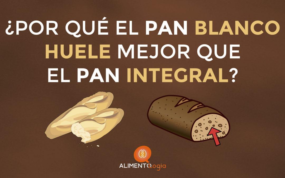 ¿Por qué el Pan Blanco HUELE mejor que el Integral?