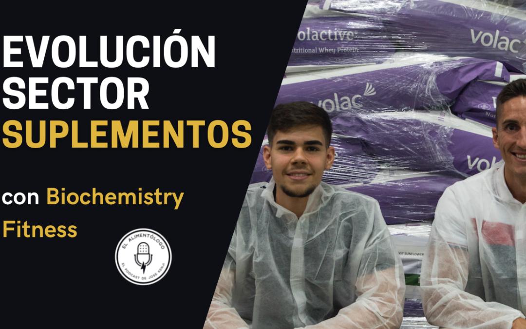 Evolución del Sector de los Complementos Alimenticios en España | Suplementos con José María Puya y Xabi Ramírez de la Piscina